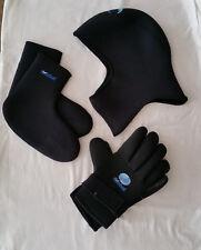 Global Sport Neoprene Surfing / Diving Set - Hood, Gloves, Socks / booties