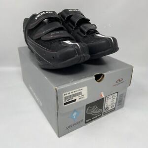 Specialized SPIRITA TOURING Women's Spin Shoes EU 36 US 6 Black PELOTON MSRP $90