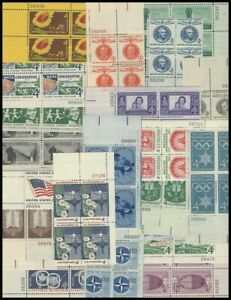 10  PBs (4 CENTS PBs)   Large Collection    All MNH -  NO Duplicates