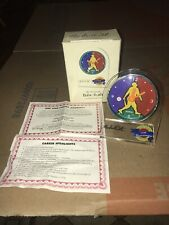 Officially Licensed Babe Ruth Commemorative Clock /TM 1995