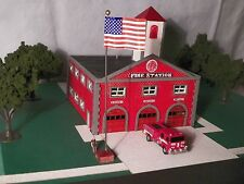 N Scale Fire House Kit