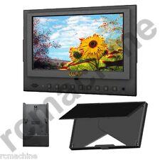 "Lilliput 7"" 5D-II/O/P Peaking Focus assist LP-E6 adapter HDMI Monitor Canon 5D3"