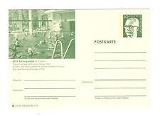 Schlangenbad 1972  Bildpostkarte  Abb: Hallenbad von innen