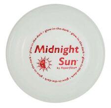 Hyperflite Midnight Sun Glow In The Dark Dog Frisbee BRIGHTEST DOG DISC US Made