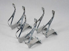 Balilla Toe Clips Size Large W Bolts Fine Italian Bicycle pedal clips 3 Pair