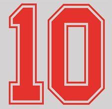 World Cup 1990 no 10 England Home Football Name set for National shirt Lineker