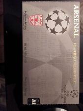 1989 Champions Leage Ticket : Arsenal v Dynamo Kyiv