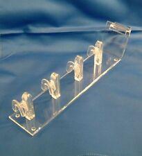 Six 4 post Acrylic Eyewear Sunglass or Eyeglass Display