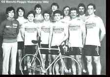 TEAM GS BIANCHI PIAGGIO WEINMANN 1982 Cyclisme racing Equipe Cyclist cycling