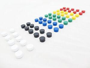 15mm Noticeboard /  Planning / Memo / Fridge Magnets (10-Pack)