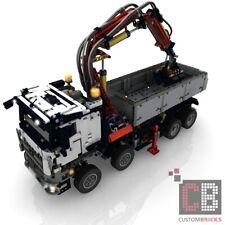 CB Eigenbau Bauanleitung FULL RC Umbau AROCS LKW für LEGO® Technic 42043 Steine