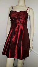 XXI Juniors Wet Shiny Red Sexy SizeS/P Gorgeous Party Gala Prom Wedding Youthful