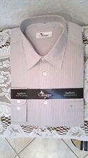 Normale Unifarben Klassische Herrenhemden im Kentkragen-Stil mit Umschlagmanschette-Ärmelart