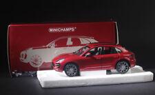 Minichamps Diecast Porsche Macan Turbo 2013 Red Metallic SUV 1/18