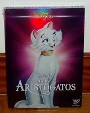 LOS ARISTOGATOS-THE ARISTOCATS-DVD-DISNEY Nº 20-NUEVO-SEALED-FUNDA DE CARTON-NEW