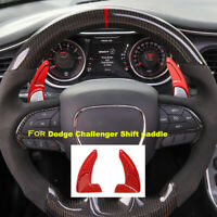 Steering Wheel Shift Extension Paddles Shifter Trim for Dodge Challenger 2015+