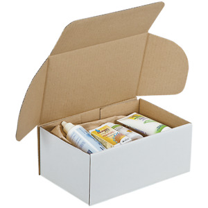 Boxes Stencil Shipping Carton Packing White 31 x 22 For 14 CM Int