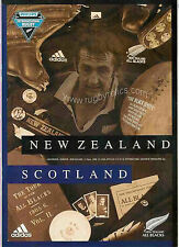 NUOVA Zelanda-SCOZIA 2000 1st test PROG 24th GIUGNO