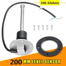 200mm Car Truck Boat Fuel Sending Unit Water Level Gauge Sensor Anti-vibration