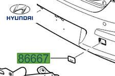 Genuine Hyundai I30 Rear Towing Eye Cover Cap - 866672L000