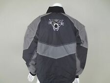 Vtg Arcticwear Womens Winter Black Gray Coat Jacket Snowmobile Arctic Cat SZ L