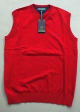 Tommy Hilfiger Sport Golf Weste Pullover Jacket, rot, Neu ! Gr. M - 50/52, NP 89