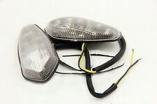LED Flush mount Turn Signal for 2003 2004 2005 2006 Yamaha YZF R6 YZFR6 Clear