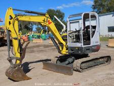 2017 Wacker Neuson Ez53 Mini Excavator Rubber Tracks Backhoe Hyd. Thumb bidadoo