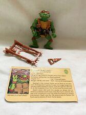 Teenage Mutant Ninja Turtles 1988 Raphael Hardhead TMNT Vintage Figure Complete