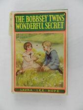 Vintage 1931 The Bobbsey Twins Wonderful Secret Hope Laura Lee HC DJ