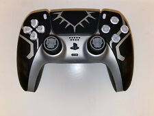 Sony Playstation 5 dualsense wireless controller Custom Black Panther PS5
