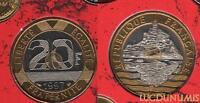BU - 20 Francs Mont Saint Michel 1997 FDC 15000 Exmplaires Scéllé provenant du c