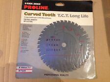 Black & Decker A7705 Proline Curved Tooth T.C.T 184mm 7 1/4 x 40 Teeth