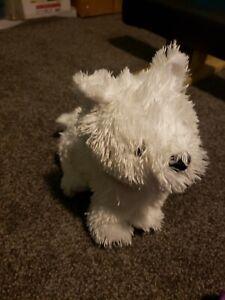 *American Girl COCONUT Soft Plush White Stuffed Puppy Dog -14 in!*