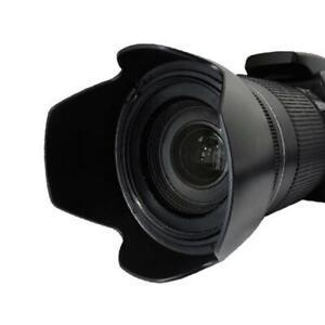 Tulip Shaped Anti Lens Flare Hood for Nikon 55-200mm II and AF-S 18-55mm Lenses
