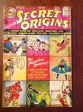 Secret Origins #1, FR/GD, Origin Sup/Bat Team, Flash, GL, WW 1961