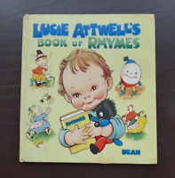 Vintage Book, Lucie Attwell's Book of Rhymes - Published by Dean & Son 1962