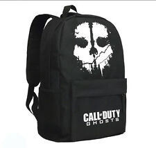 New Call of Duty Ghosts Black Backpack bag for Teen Boys Girls Kids School Bag