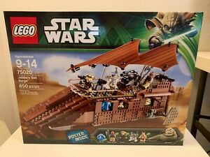 Lego Star Wars 75020 Jabba's Sail Barge New and Sealed