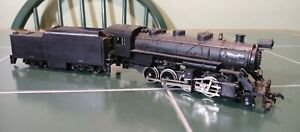 HO 1:87 Old Vintage Tyco Hong Kong 0-8-0 STEAM LOCO & TENDER CHATTANOOGA