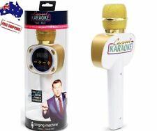 Singing Machine Carpool Karaoke Microphone BlueTooth Music, Spotify, Apple Music