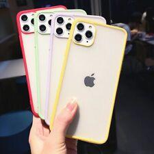 Candy Color Matte Soft Cute Cases iPhone 11 11Pro Max 7 8 6 6S Plus X XS Max