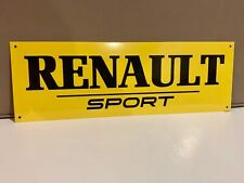 Renault F1 Team Sport Alpine French Racing Reproduction Garage Sign