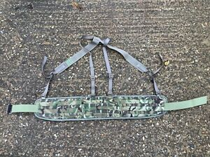 British Army Issue Battle Belt Osprey MTP Roll pin Belt Size Medium