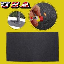 124x75cm Grill Mat Pad BBQ Gas Floor Protective Fire Resistant Rug Splatter US