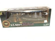 Excite US Navy Seals W/ 2 Navy Seal Figures & 1 CRRC-Combat Rubber Raiding Craft