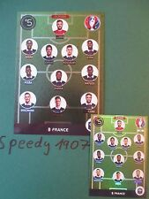Panini Adrenalyn Euro 2016 Limited Edition XXL France eleven onze Team
