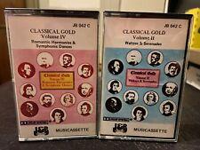 Classical Gold Volume II and IV (2 & 4) Waltzes Serenades Romantic harmonies J&B