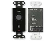 RDL DB-RLC10M Remote Level Control with Muting/Rotary Optical Encoder/Black