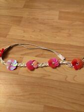 Floral Rope Braid Headband Belt Paillette Hair Accessories
